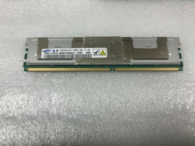 Used 8GB Memory Kit 4x2GB Samsung HP 398707-051 M395T5750EZ4 PC2-5300