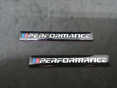 set 2 Stemma badge logo bmw m performance SPORT