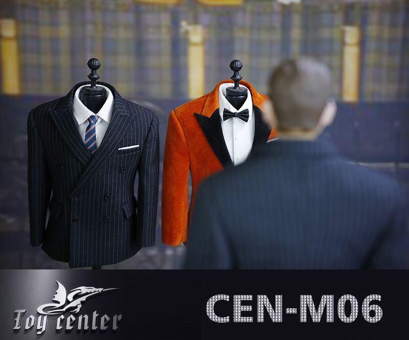 1 6 Toy center CEN-M06 The Agent Solider Suit Clothes&Dog Model Set Fit M30 Body