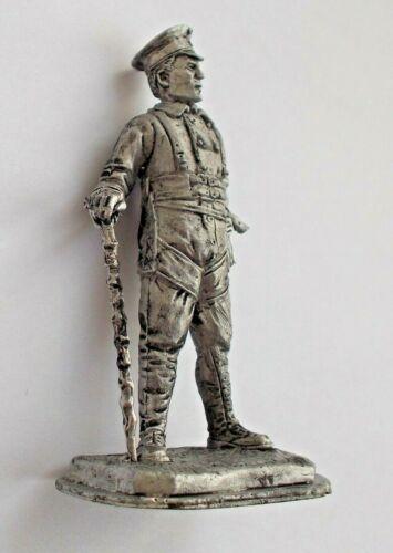 1//32 German Pilot WWI Hermann Goering Ace Tin Metal soldier figure 65 mm