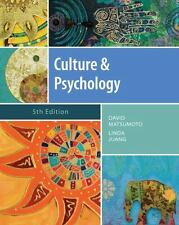 PSY 399 Introduction to Multicultural Psychology: Culture and Psychology by Linda Juang, Matsumoto and David Matsumoto (2012, Hardcover)