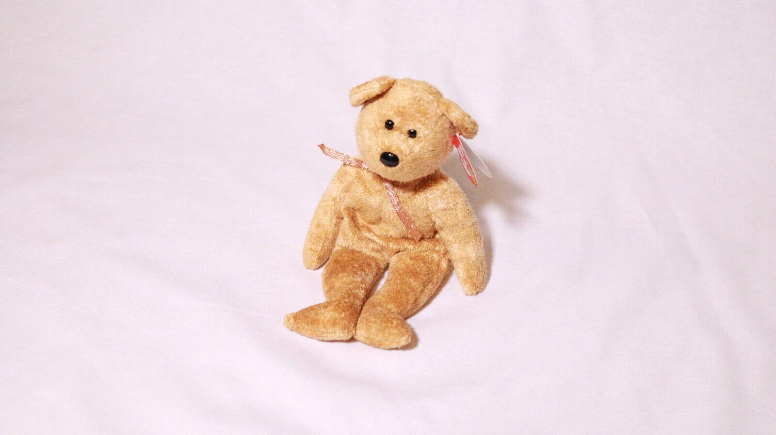 Cashew Bear Rare Errors -Beanie Baby