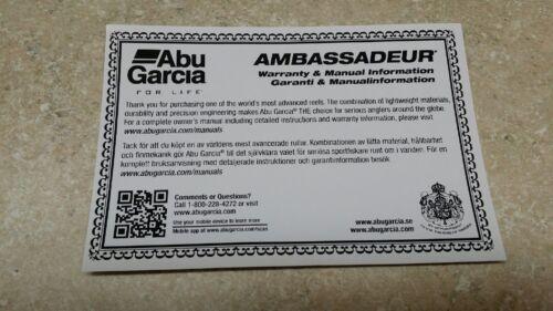 1 Abu Garcia Part# 1881 Brake Block Large 5000 Fits 72 Reels 5000,6000,7000...