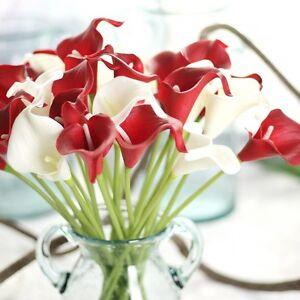 1 10st Kunstblume Calla Zimmercalla Kunstliche Hochzeit Blumen