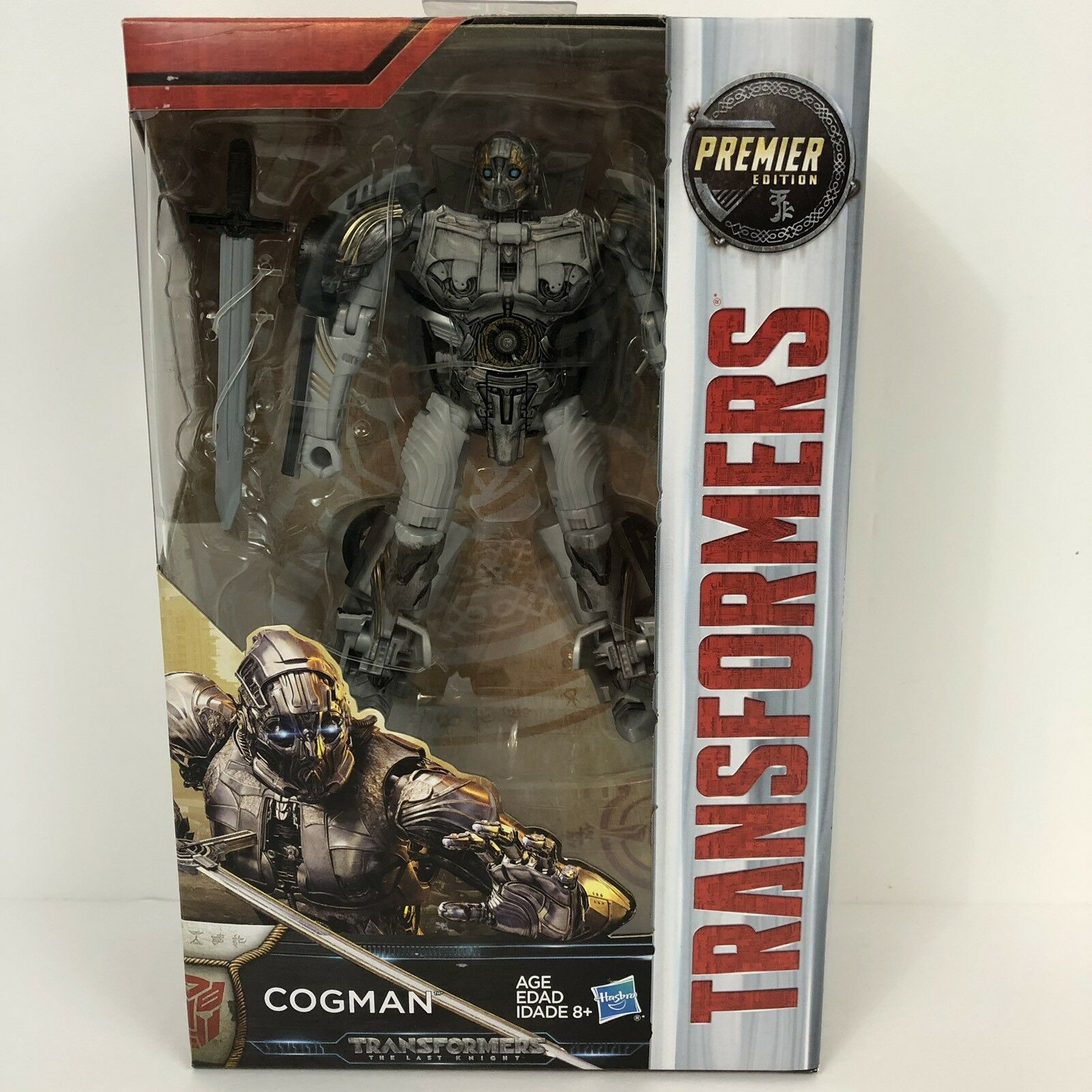 Transformers MV5 Hasbro Last Knight Premier Ed Deluxe W3 Cogman In stock