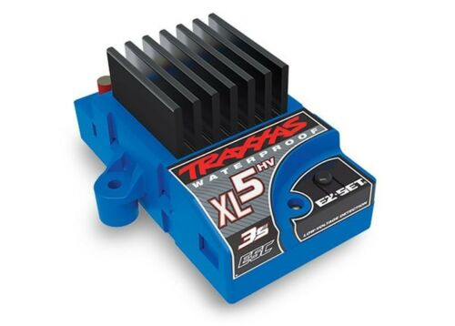 11,1V 60A Waterproof Traxxas XL-5 HV 1:10 RC Car Tuning Regler 2-3S LiPo 7,2V