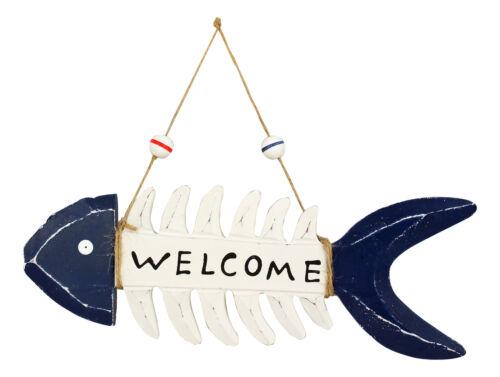Grätenfisch-WELCOME perfekt für die maritime Dekoration