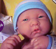 "NEW  La Newborn Baby Doll Full Vinyl Berenguer doll 14"" BOY For Reborn NIB"