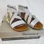 thumbnail 5 - BEARPAW Strappy Silver Sandal Size 9 Open Toe Brea  EUR 40 UK 7