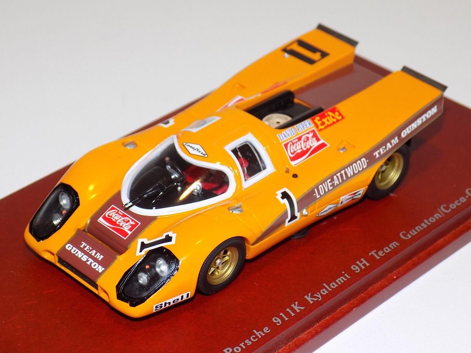 1 43 TRUE SCALE MODELS TSM Porsche 917K 1970 kayalami 9 H TSM114311