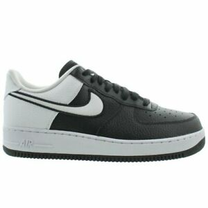 Details about Nike Air Force 1 07 LV8 Mens AO2439 001 Black White Athletic Low Shoes Size 13