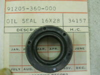 Honda Ca72, Ca77, Cb100, Cb125, Oil Seal 16x28x7, 91205-360-000 A1