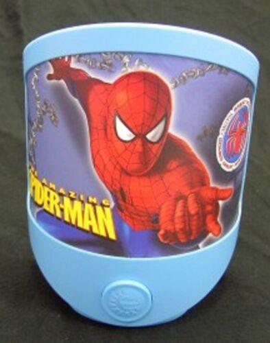 Nachtlicht LED Spiderman batteriebetriebene Kinderleuchte .#2038