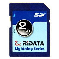 Ridata 2gb 60x Secure Digital Flash Card Lightning Sd For Digital Camera