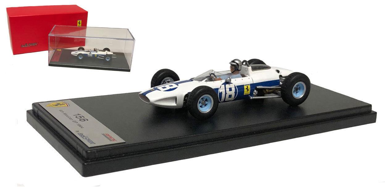 LOOKSMART LSRC 09 FERRARI 156 #18 Mexican GP 1964-Pedro Rodriguez échelle 1/43   Art Exquis    Moderne    Stocker
