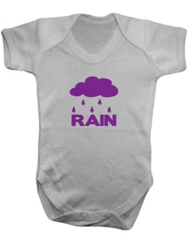 Prince purple rain bébé-gilet-bébé ange bébé-body 100/% coton