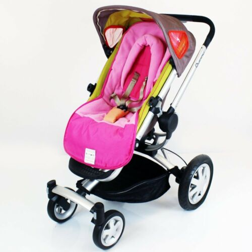 Head Huger Pink Raspberry with Pouches Luxury Fleece Lined Pushchair Footmuff