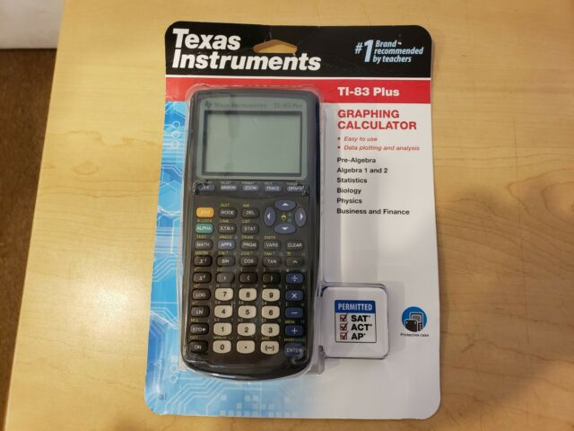 Texas Instruments TI-83 Plus Graphing Calculator **NEW**