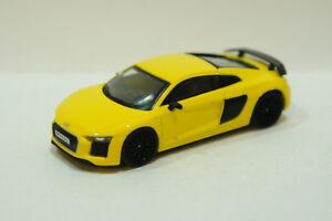 Tarmac Works AUDI R V Plus Vegas Yellow EBay - Audi r8 v10 plus