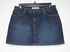 Abercrombie & Fitch Denim Jean Mini Skirt Women's SIZE 6 (30 Waist) Made in USA