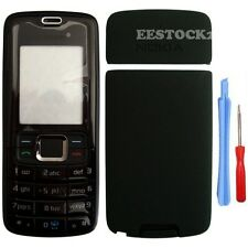 Black Fascia Full Housing Case Cover Keypad for Nokia 3110 Classic 3110C +Tools