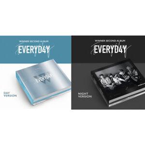 WINNER-EVERYD4Y-2nd-Album-Random-Ver-CD-Booklet-Photocard-Lyrics-Etc-KPOP-Sealed