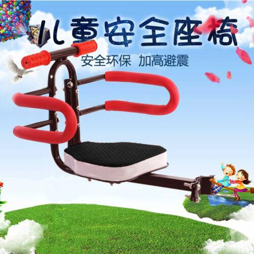Portable Metal Bike Bicycle Child Seat Saddle Child Front Baby Carrier Kids K0H8