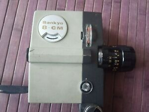 Details about Sankyo 8-CM 8 mm camera with Pronon zoom 8,5-26mm  f1,8 not  tested