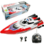 Remote-Control-Twin-Motor-High-Speed-Boat-RC-Racing-Outdoor-Toys-With-Radio thumbnail 7