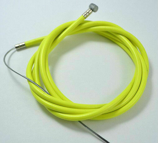 Bicycle Bike Road Brake Cable Set W//innerwires /& housing 1 Front 1 Rear Yellow