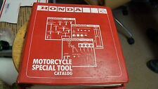 NOS OEM Honda Motorcycle Special Tool Catalog
