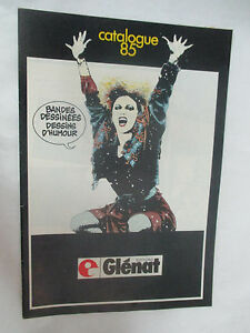 Catalogue-Glenat-1985-Crepax-Francois-Bourgeon-Le-Mercenaire-etc-48-pages