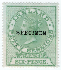 I-B-QV-Revenue-Ireland-Petty-Sessions-6d-specimen