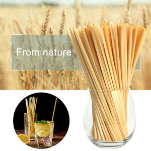 100Pcs-Practical-Wheat-Drinking-Straws-Biodegradable-Eco-Frendly-Straws-Bulk-Set
