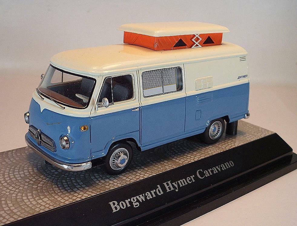 Premium CLASSIXXS 1 43 Borgward Hymer Caravano OVP  3758