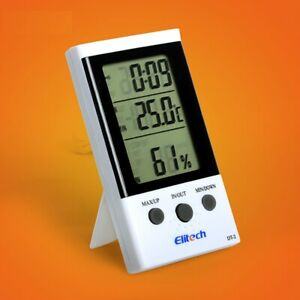 Thermometer Elitech DT-2 Digital LCD Temperature Humidity Hygrometer