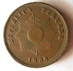 1936-Peru-2-Moneda-Alta-Calidad-Latin-America-Bin-1