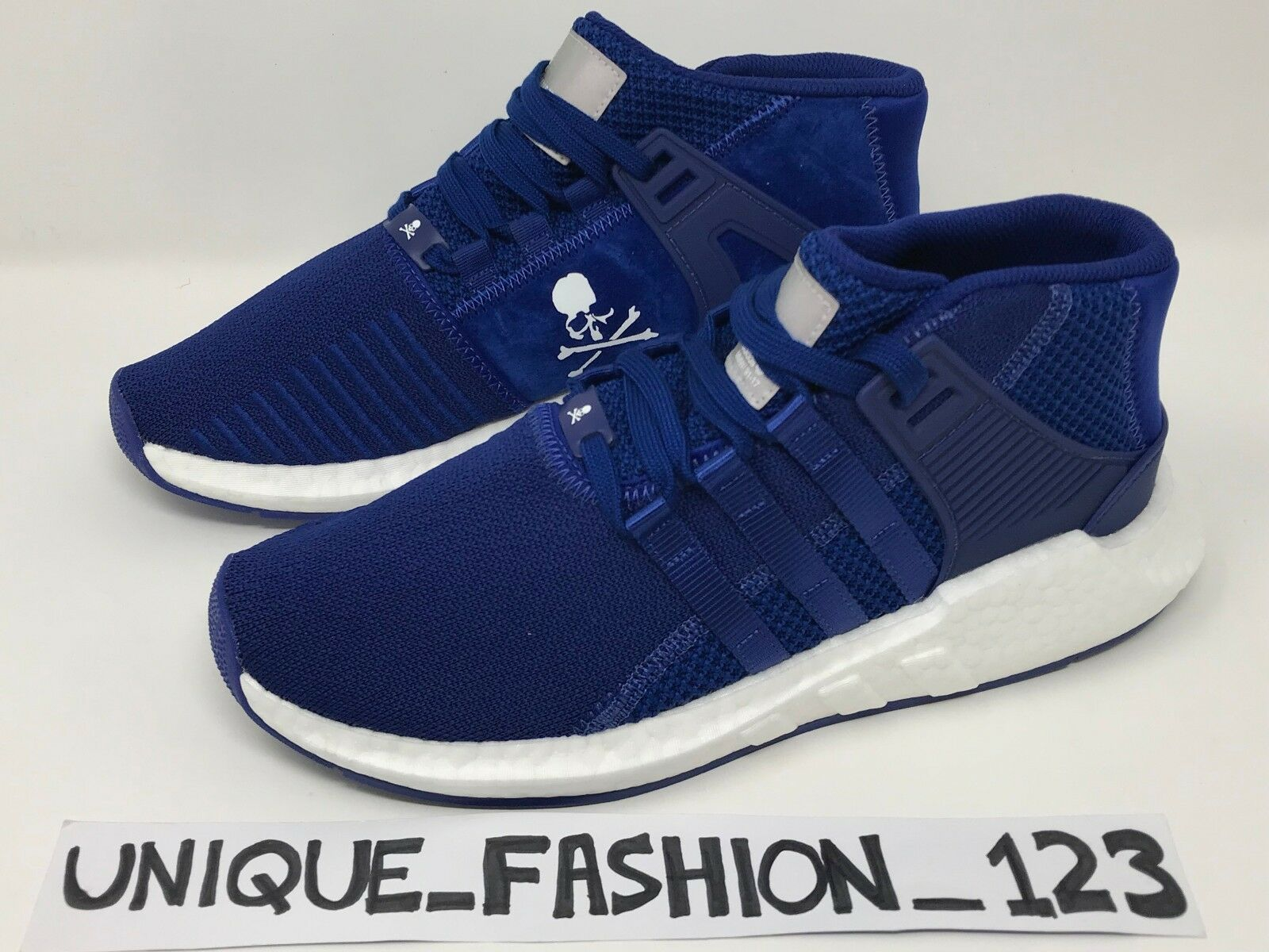 Adidas consorcio EQT Soporte Medio X Mastermind 8 Reino Unido 6 7 8 Mastermind 9 10 11 MMJ Azul MMW f57524