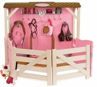 Horse Barn Stable Accessories Set For 18 American Girl Doll Our Generation
