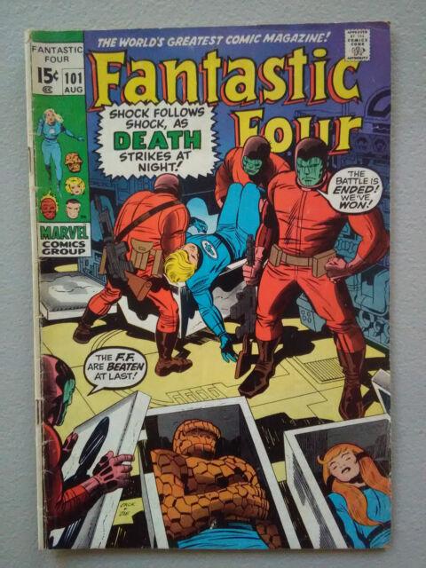 Fantastic Four #101 (Aug 1970, Marvel)