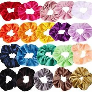 12Pcs-Pack-Hair-Scrunchies-Velvet-Elastics-Hair-Ties-Bands-Ties-Ropes