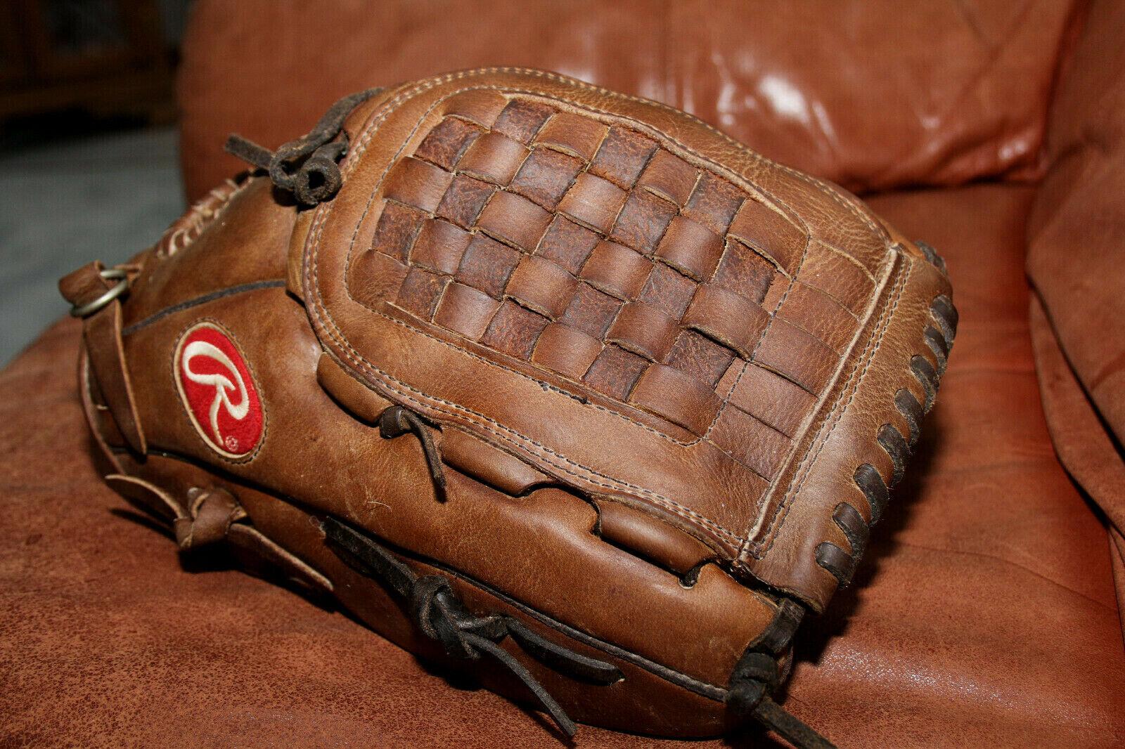 Rawlings 13  SL130P totalmente acondicionado cuero guante de Softball - 40 Años De Exp.