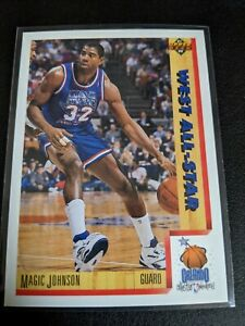 1991-92-Upper-Deck-Magic-Johnson-464-All-Star-Los-Angeles-Lakers