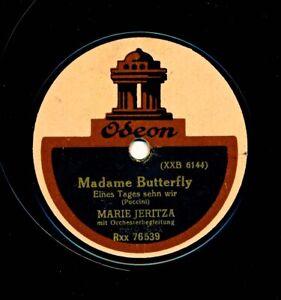 """MARIE (MARIA) JERITZA (Soprano) 12"""" Odeon Rxx 76539 / 76540 (Germany) (1914) E-"""