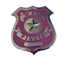 Pink Police Woman Badge Hen Night Party Fancy Dress