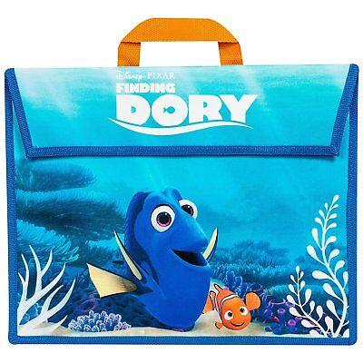 100% Vero Disney's Finding Dory Bambini Kids Borsa Scuola Libro Di Lettura Documento Borsa A Tracolla-mostra Il Titolo Originale