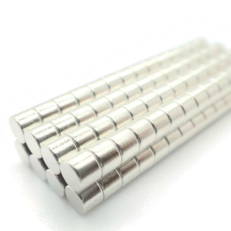 Neodym Magnet Starke Kleine Scheiben Magnete N38 vernickelt Große/&Menge wählbar