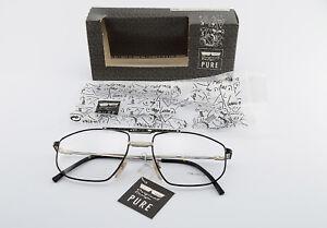 CHAI-Brille-No-7-F244-K103-1093-56-18-140-Vintage-Eyeglasses-Frame-Double-Bridg