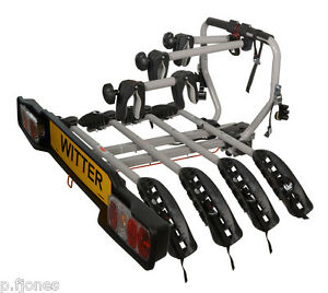 Witter-ZX204-Tow-Bar-Mounted-4-Four-Bike-Cycle-Carrier