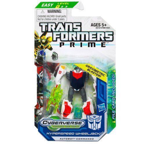 """TRANSFORMERS PRIME /""""HYPERSPEED WHEELJACK/"""""""